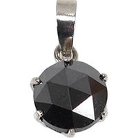 ブラックダイヤモンド<br>のペンダントトップ